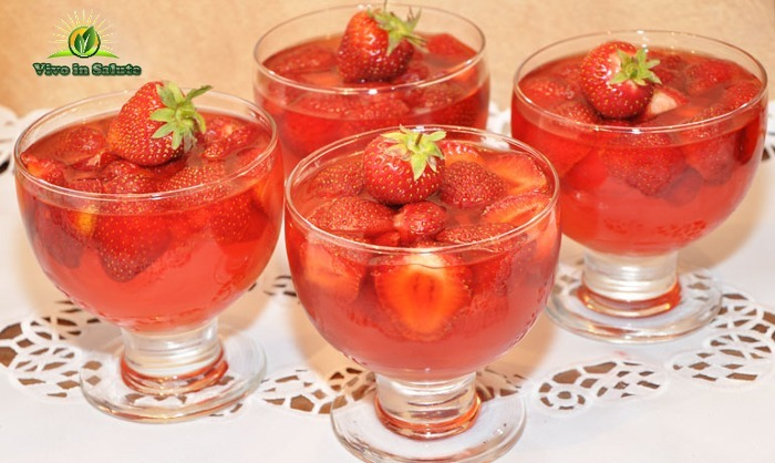 Gelatina di fragole