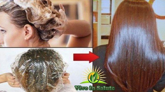 Maschera per capelli al miele e cannella