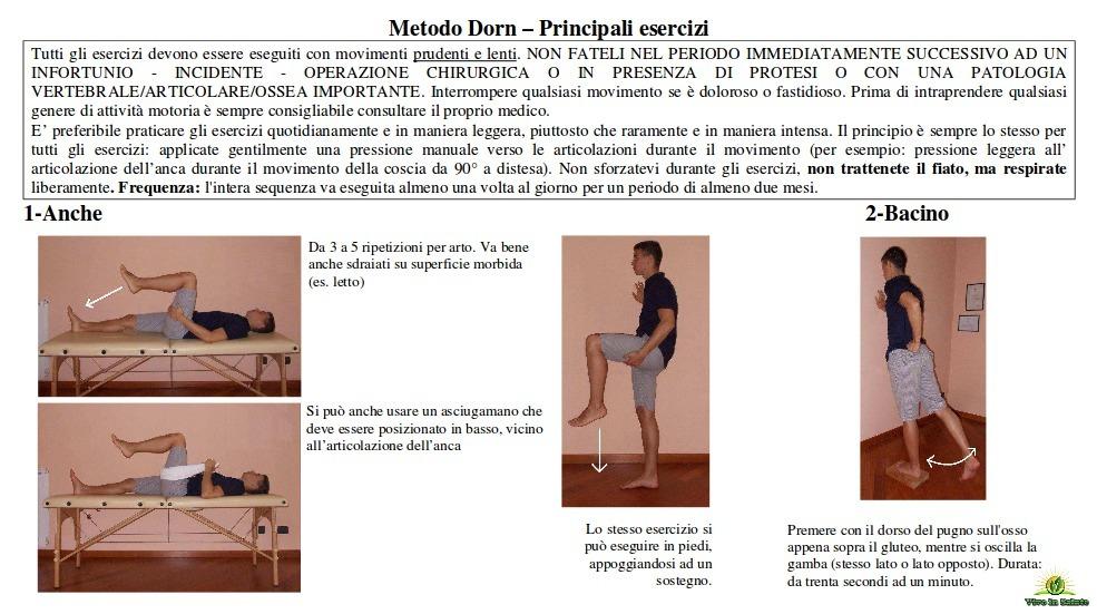 Metodo Dorn esercizi 1