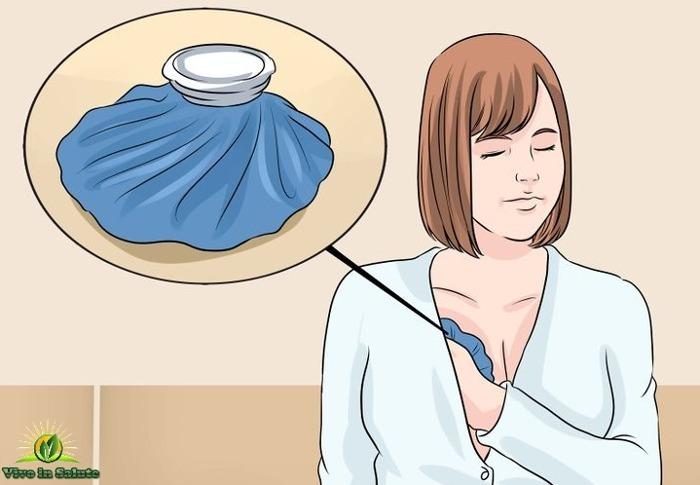Terapia di ghiaccio per il seno