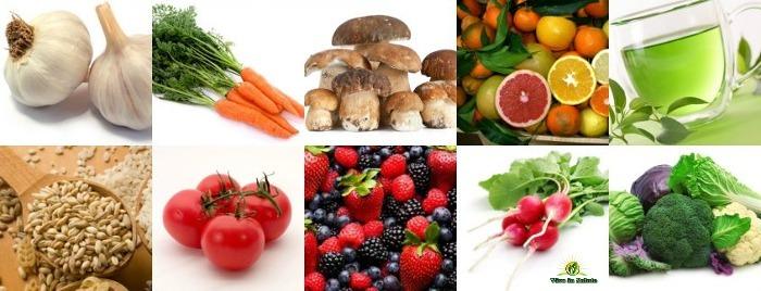 Alimentazione antitumorale