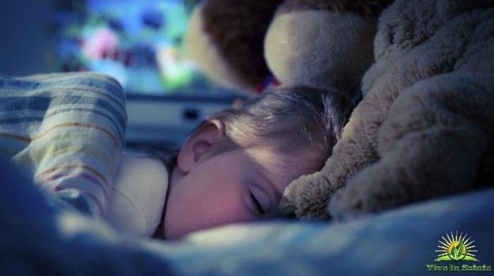 Bambino dorme a sufficienza