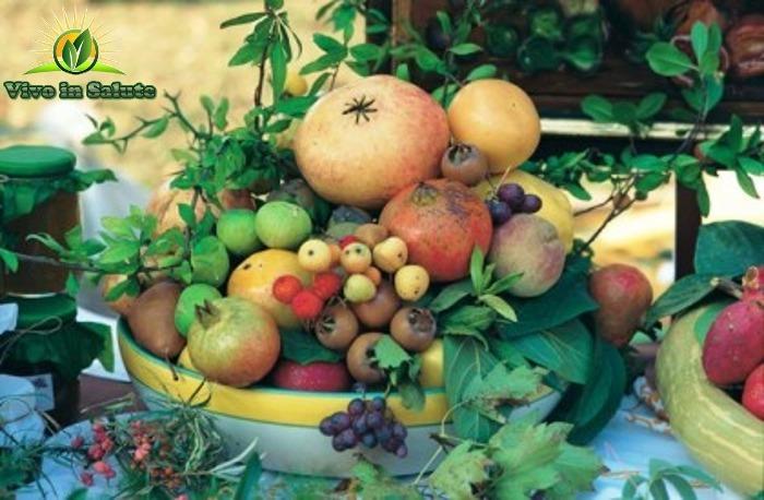 Frutta spezie e erbe aromatiche