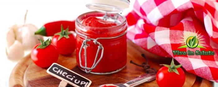 Ketchup fermentato