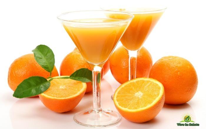 Succo d'arancia fermentato