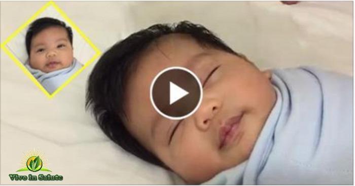 Come far dormire un bambino in 40 secondi