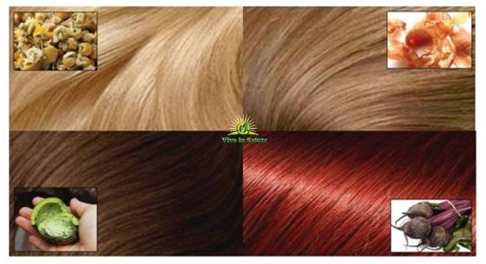 Come colorare i capelli naturalmente