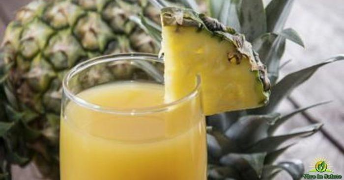 Succo di ananas è 5 volte più efficace di sciroppo per la tosse
