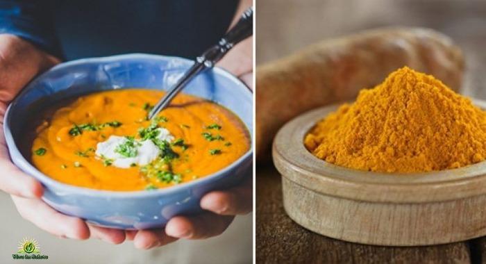 Una super zuppa che combatte l'infiammazione la malattia di Alzheimer e il cancro