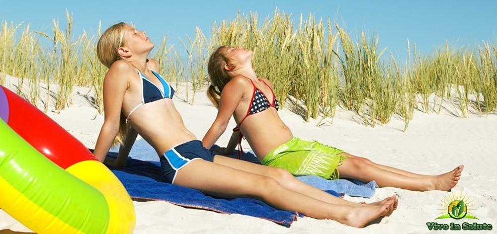 Quando esporsi al sole e produrre piu' Vitamina D