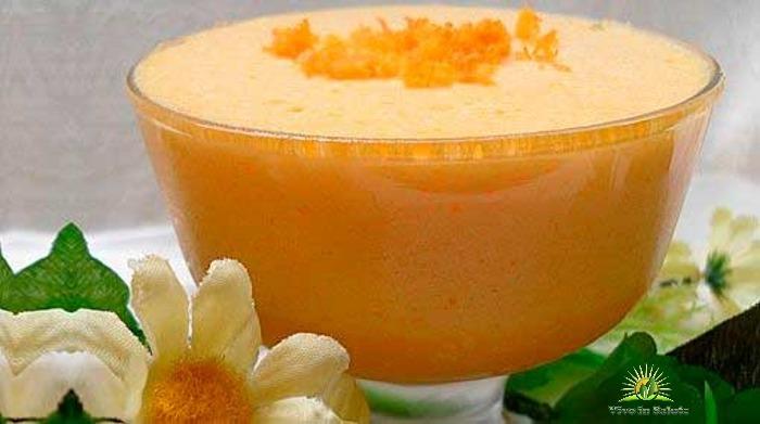 Gelatina al arancia