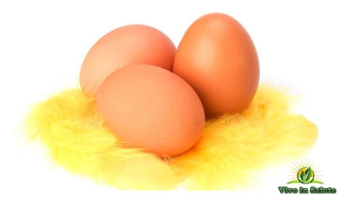 3 uova al giorno