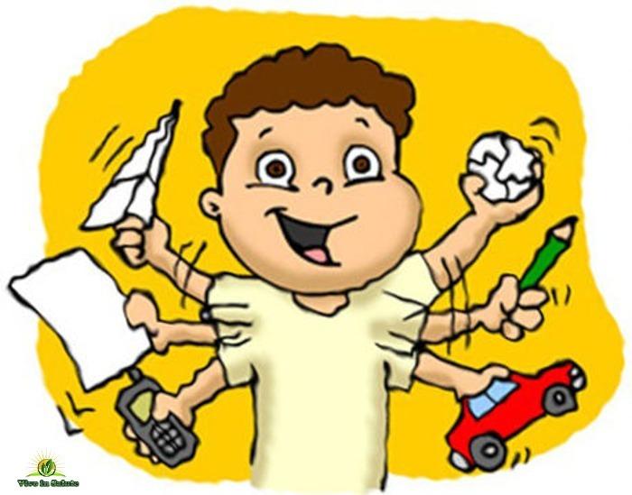 Risultati immagini per deficit attenzione bambini sintesi