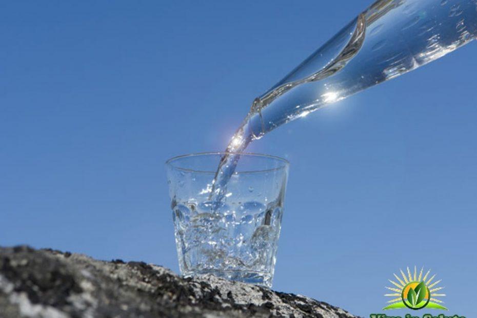 Arsenico nelle acque minerali che bevi